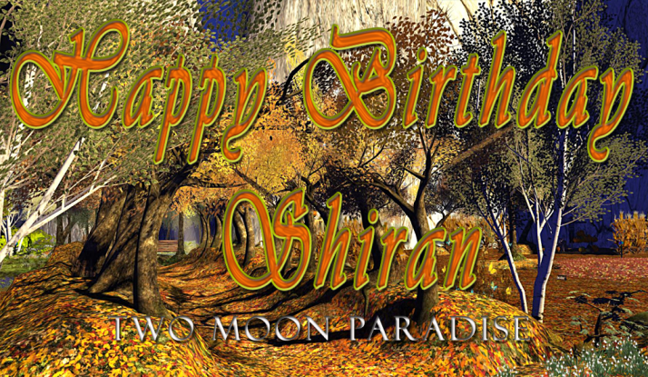 Happiest of Birthdays ~ Shiran!!