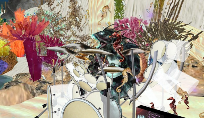 Music Madness Sundays 1-3 pm slt with Drumming Farrokh Vavoom Mer Garden