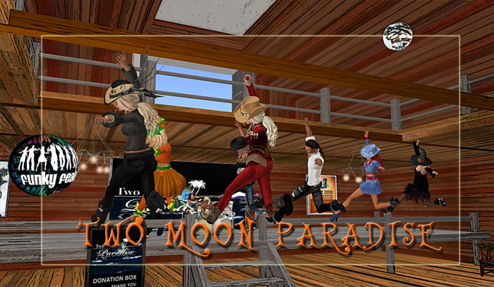 Join us at Two Moon Paradise for live music events and more Featuring Damian Carbenell, Lisa Brune, CeCi Dover, Farrokh Vavoom, Samm Qendra, AMForte Clarity, AM Quar, Max Kleene, Voodoo Shilton, Shay Sunnyside and The Funky Feats