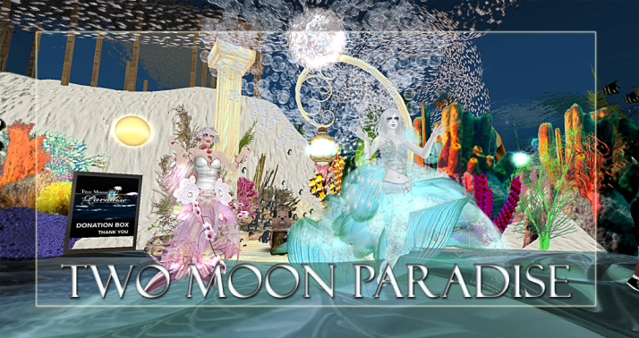 Along with live music Two Moon Paradise has themed contests for both Mers and Landwalkers weekly. Come Explore The New Mer Cave Area