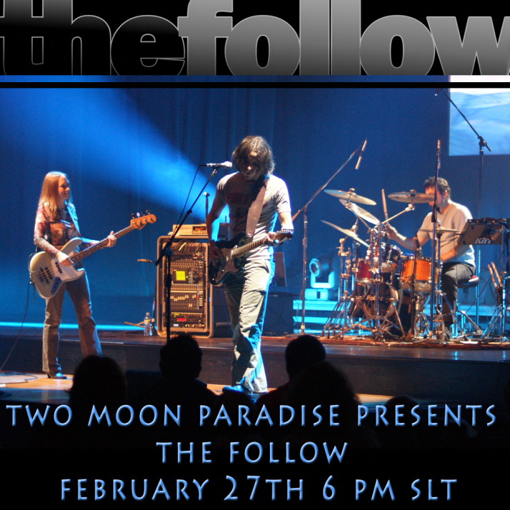 Join us at Two Moon Paradise for live music events and more Featuring Lisa Brune, CeCi Dover, Farrokh Vavoom, The Follow,  AM Quar, Max Kleene, Russell Eponym, Marky Helstein, Shay Sunnyside and The Funky Feats