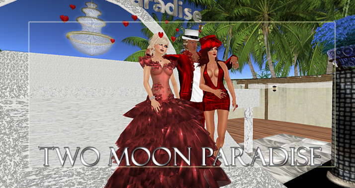 Winners LouLou, Farr and Gussie Along with live music Two Moon Paradise has themed contests for both Mers and Landwalkers weekly. Come Explore The New Mer Cave Area
