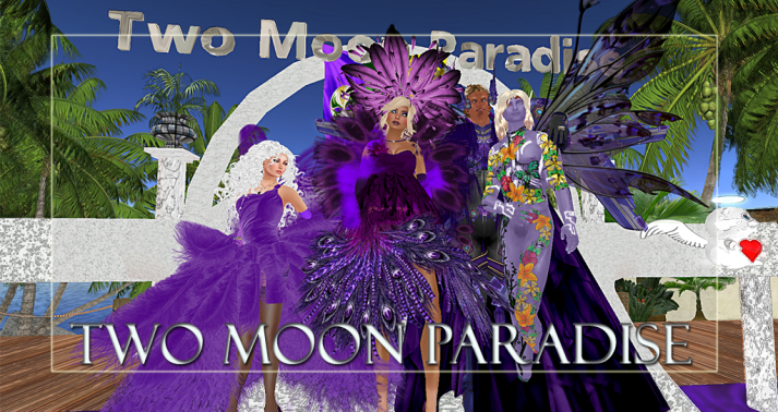 Winners Queen, LouLou, Farr and Julian Along with live music Two Moon Paradise has themed contests for both Mers and Landwalkers weekly. Come Explore The New Mer Cave Area