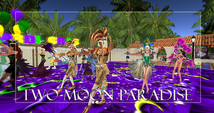 Winner Farr Along with live music Two Moon Paradise has themed contests for both Mers and Landwalkers weekly. Come Explore The New Mer Cave Area