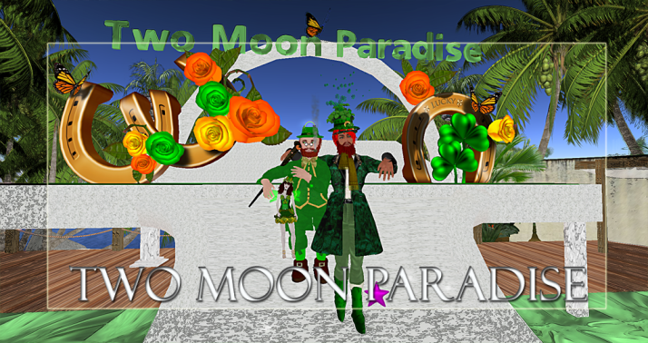 Winners Vala Zman and Julian Two Moon Paradise has themed contests for both Mers and Landwalkers weekly. Come Explore The New Mer Cave Area