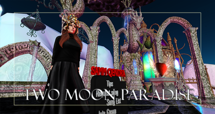 Join us at Two Moon Paradise for live music events and more Featuring Lisa Brune, CeCi Dover, Farrokh Vavoom,  AM Quar, Max Kleene, Russell Eponym, Samm Qendra, Damian Carbenell , Shay Sunnyside and The Funky Feats