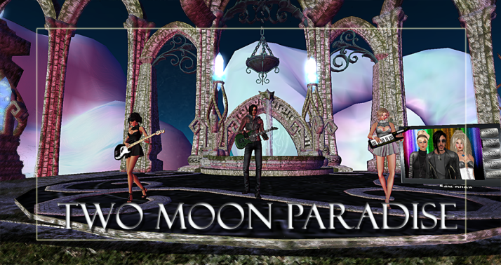 Join us at Two Moon Paradise for live music events and more Featuring Lisa Brune, CeCi Dover, Farrokh Vavoom,  AM Quar, Max Kleene, Russell Eponym, Marky Helstein , Shay Sunnyside
