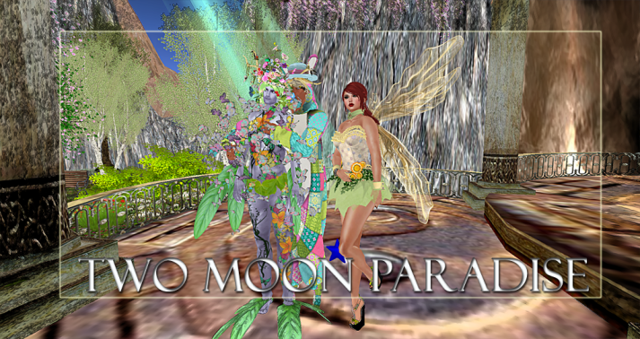 Winners Julian, Farr and Dru Two Moon Paradise has themed contests for both Mers and Landwalkers weekly. Come Explore The New Mer Cave Area