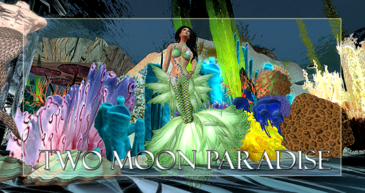 Two Moon Paradise has themed contests for both Mers and Landwalkers weekly. Come Explore The New Mer Cave Area