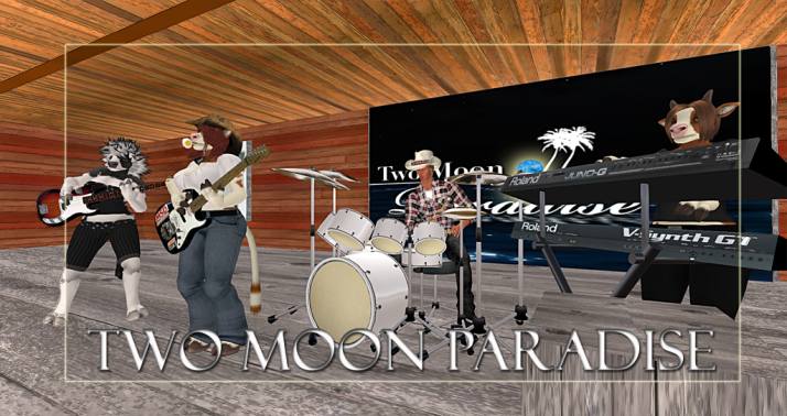 Join us at Two Moon Paradise for live music events and more Featuring Lisa Brune, CeCi Dover, Farrokh Vavoom, AM Quar, Russell Eponym, Max Kleene,Samm Qendra,Voodoo Shilton, Shay Sunnyside and The Funky Feats