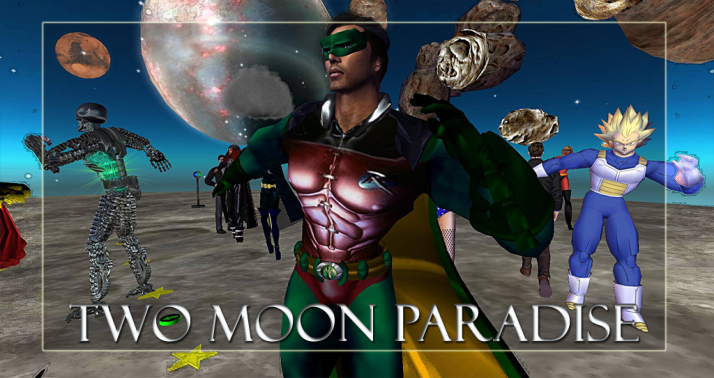Winner Oke Two Moon Paradise has themed contests for both Mers and Landwalkers weekly. Come Explore The New Mer Cave Area
