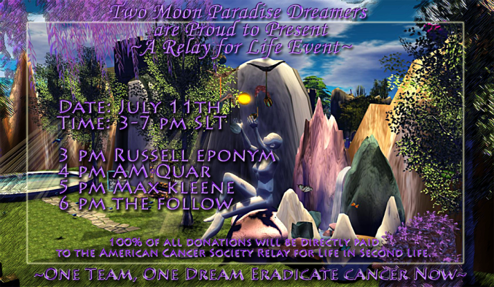 RFL Event TMP Dreamers ~ Russell Eponym, AM Quar, Max Kleene and The Follow