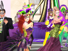 Mardi Gras group