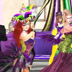 Mardi Gras group
